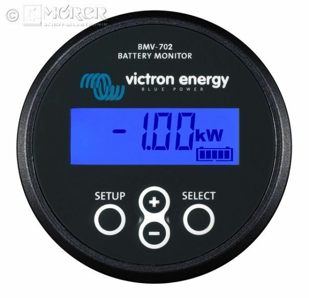 VICTRON BMV-702S - Batteriemonitor BMV-702S VICTRON - schwarz 0681ff