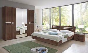 Susan German Brown Walnut Bedroom Furniture Set Wardrobe