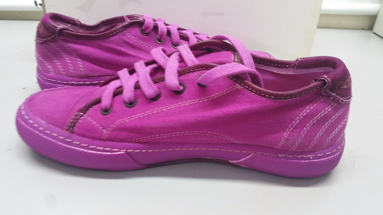 PANTOFOLA D'ORO SNEAKERS CANVAS FLUO TN36 FUXIA 42 ANEMONE FLUO CANVAS UNISEX hombre mujer f2055b
