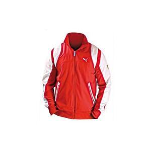 Taille Ferrari S Puma Homme Rouge Veste Zipper TAan8Rqaw