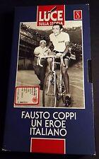 VHS - Fausto Coppi un Eroe Italiano - Ciclismo