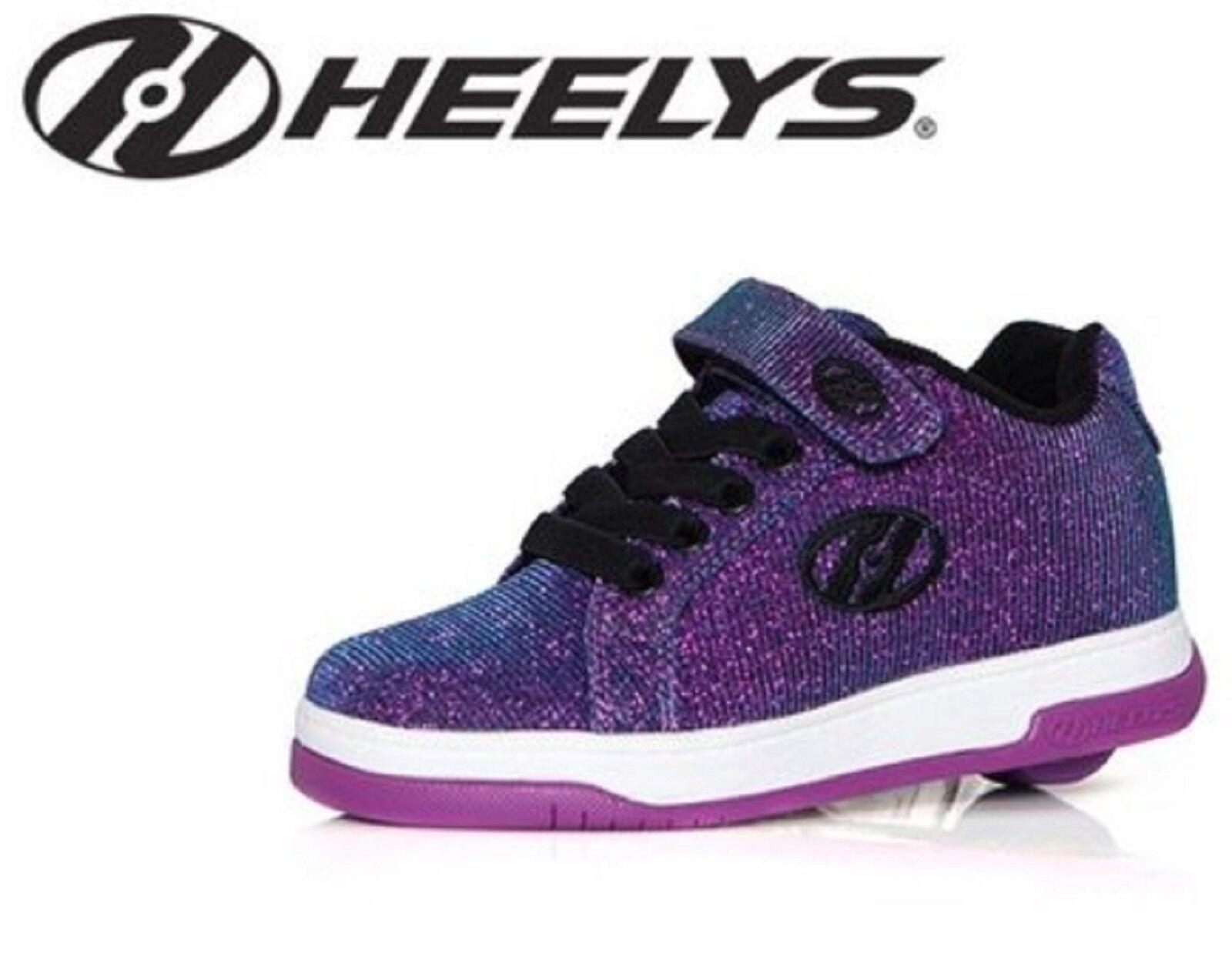 HEELYS SPLIT GIRLS lila AQUA GIRLS SPLIT BOYS ROLLER SKATE Schuhe TRAINER HES10121 21f05b