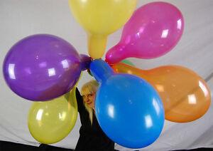 100-x-BELBAL-14-034-Luftballons-GEMISCHTE-KRISTALLFARBEN-MIXED-CRYSTAL-COLORS