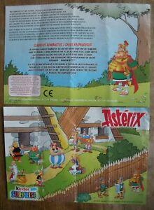 Goscinny - Uderzo : Asterix - Kinder Surprise : Feuillet Faipalgugus De 2003