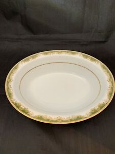 Noritake-China-Serving-Bowl-Warrington-6872-Japan-9-3-4-X7-1-2-EUC-Oval-Shape