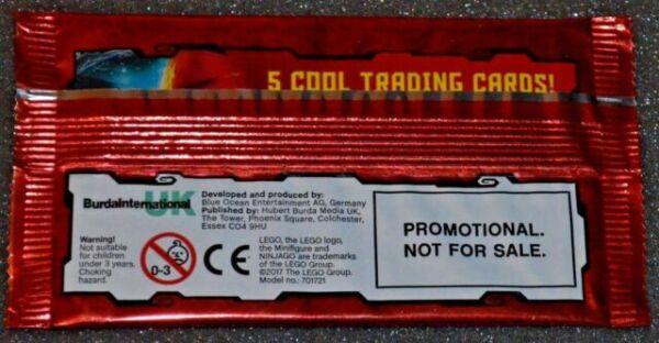 LEGO NINJAGO Trading Cards PROMO/' PACK  series 2