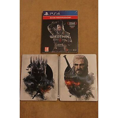 The Witcher 3 - The Wild Hunt Steel Case STEELBOOK G2 PS4 Skellige XBOX ONE