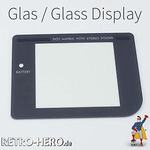 Gameboy-Classic-Display-Scheibe-Grau-LCD-Linse-Screen-Game-Boy-ECHTES-Glas