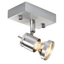 Intalite ASTO I pareti e lampadario a soffitto,alluminio spazzolato,GU10,max.