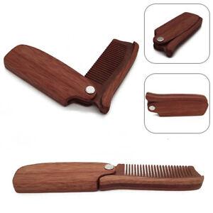 Portable-Wooden-Pocket-Folding-Moustache-Comb-Beard-Hair-Comb-Anti-Static-Gift