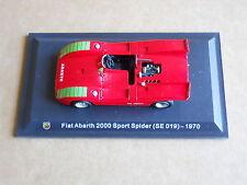 Leo Models CAR DIE CAST 1:43 FIAT ABARTH 2000SPORT SPIDER 1970 (SE 019) [MV-13 ]