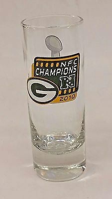 Green Bay Packers Tall Beer Glass Official Merchandise