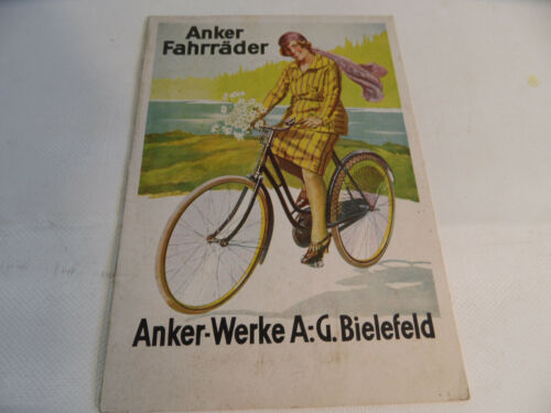 Old Brochure Anchor Bicycles Bielefeld