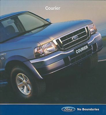 Delicious 2005 Ford Courier Prospekt Brochure Catalogue Englisch Australien