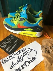 new arrival 7e6c4 84a2b Image is loading Exremely-RARE-Nike-Air-Max-90-NikeID-Custom-