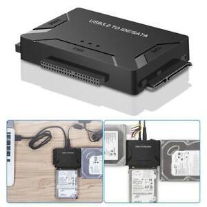 USB-3-0-to-IDE-amp-SATA-Converter-External-Hard-Drive-Adapter-Kit-2-5-034-3-5-034-Ca-KD