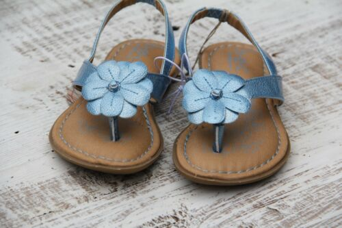 b.o.c 8 NEW Blue Sandals Ankle Strap Born O Concept Girls Toddler Size 6