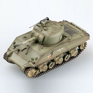 1:72 WW2 M4A3 sherman tank US army coyote painting weathering Easy