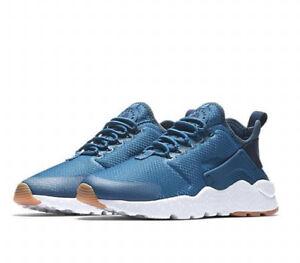 23077751cd00a Nike Air Huarache Run Ultra Women s (Size 6   6.5) Blue   White ...