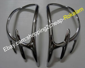 Goldwing-GL1800-Chrome-Parts-For-Honda-Mirror-Back-Accent-Grilles-Garnish-Cover