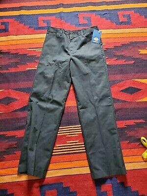 NEW Dickies Boys Navy Pants School Uniform Size 18H Husky Flex Classic Fit