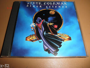 STEVE-COLMAN-and-the-FIVE-ELEMENTS-sax-jazz-CD-rare-BLACK-SCIENCE