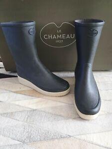 Détails sur Le Chameau Paris faible taille de la UK 37 UK 4 bottes Noir Bottes Bottines afficher le titre d'origine