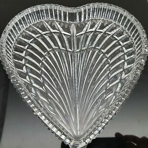 Waterford-Crystal-Large-Heart-Shaped-Trinket-Candy-Vanity-Dish