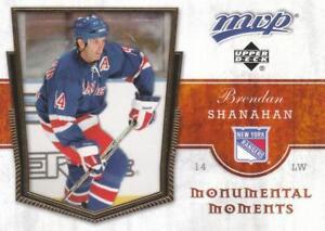BRENDAN-SHANAHAN-NEW-YORK-RANGERS-2007-08-UD-MVP-MONUMENTAL-MOMENTS-MM9