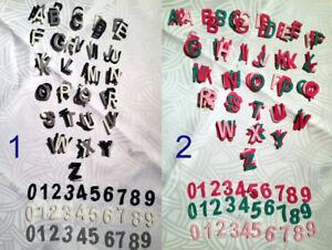 Freie Auswahl Deko Bastel Scrapbooking ABC 0-9 Name Holz Buchstaben /& Zahlen
