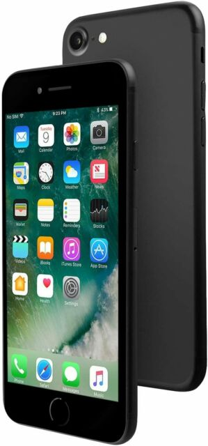 Apple iPhone 7 GSM Unlocked A1778, 32GB Black 4G LTE IOS Smartphone