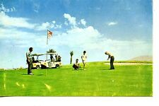 Sports Players-Golf Course-Arizona City Development Advertising-Vintage Postcard