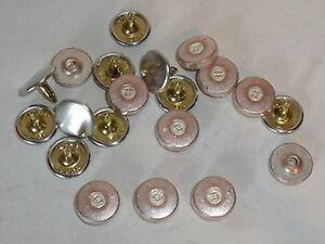 50 Jeansnieten Ziernieten Nieten Jeans 7 x 5mm  altmessing 05.37