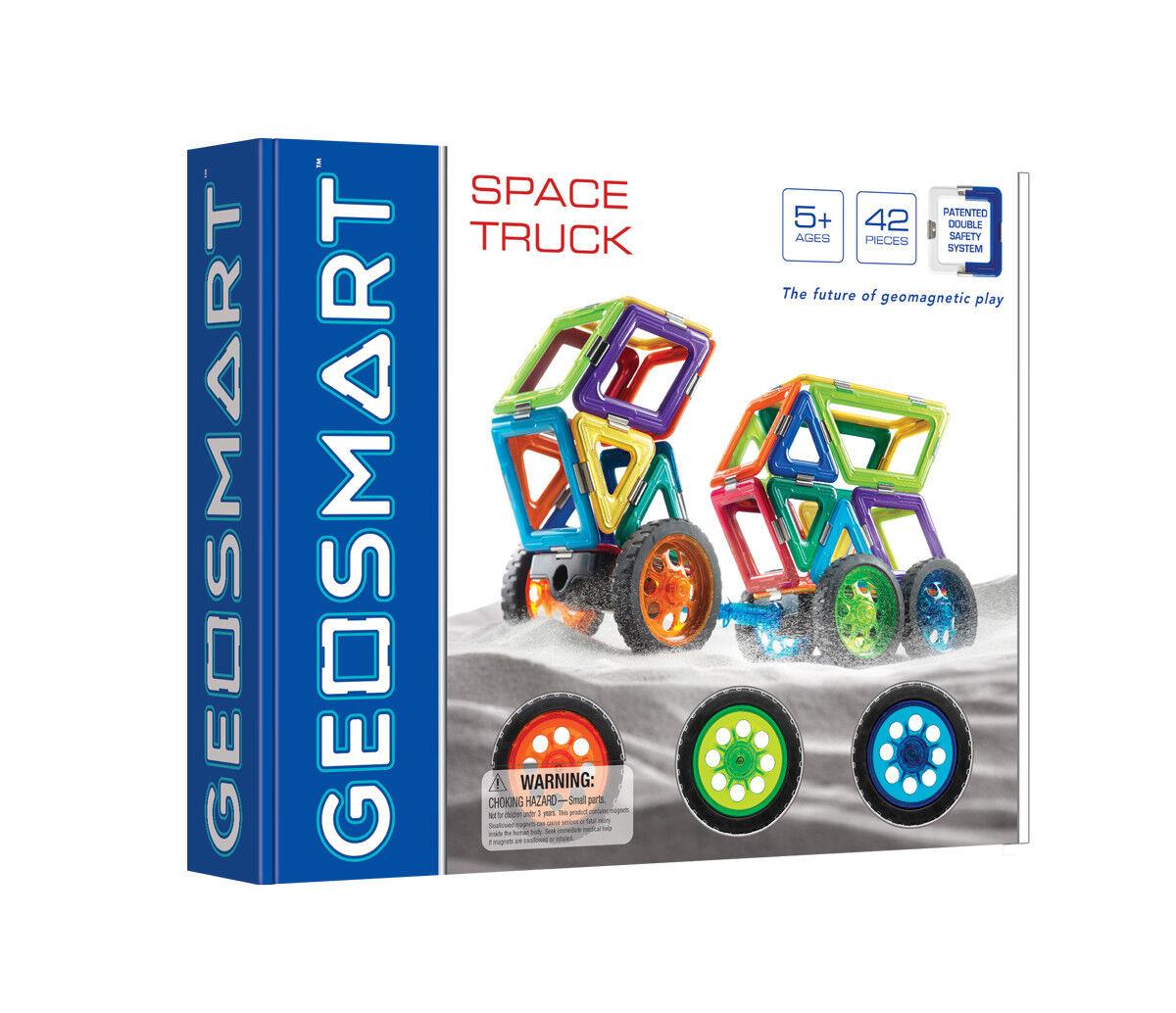 Camión de espacio-geosmart geomagnético Play - 42 piezas conveniente para las edades 5+