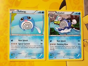 Furious Fists 15//111 Poliwag Reverse Holo Pokemon Card