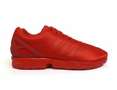 Adidas Men's ORIGINALS ZX FLUX Running Shoes Red/Red AQ3098 Size 11.5 a