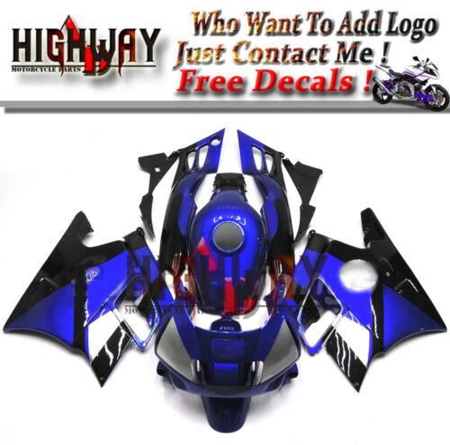 Cowling Kit Fairing Bodywork Kits work for Honda CBR600 F2 1991-1994 blue black