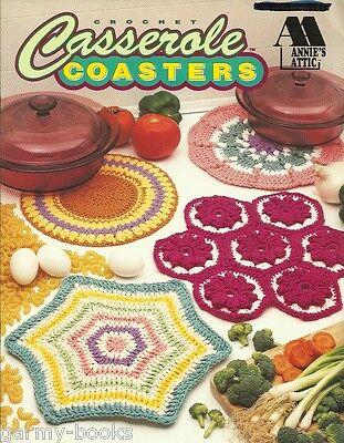 Casserole Carrier Vanna Crochet Pattern//Instructions Leaflet NEW