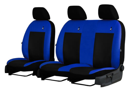 VOLKSWAGEN TRANSPORTE T4 1989-2003 ECO LEATHER SEAT COVERS MADE TO MEASURE