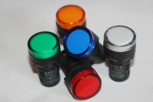 Industrial LED Light Φ22 Blue Colour 12v Ce AC/Dc