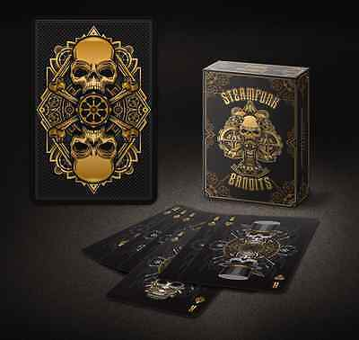 Set of 3 Steampunk Bandits Decks Playing Cards New Sealed