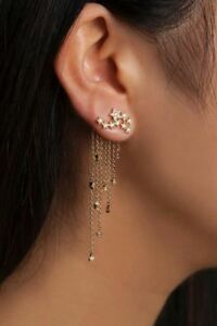 Image Is Loading Beautiful Delicate Star Earring Cuff Single Fashion Solid
