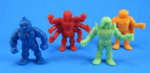 Vintage-1985-M-U-S-C-L-E-Men-Action-Figure-LOT-Kinnikuman-Zebra-Ashuraman