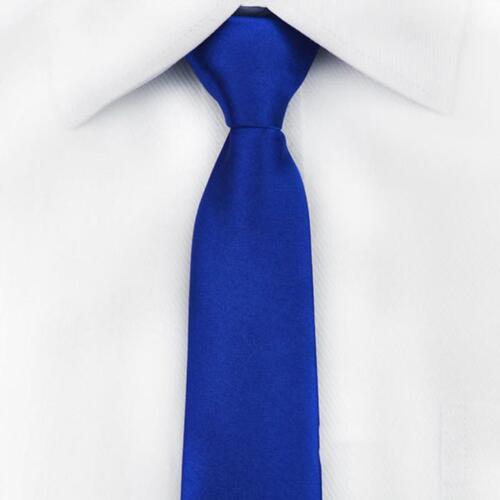 1PC Men/'s Zipper Necktie Solid Casual Business Wedding Slim Zip Up Neck Tie