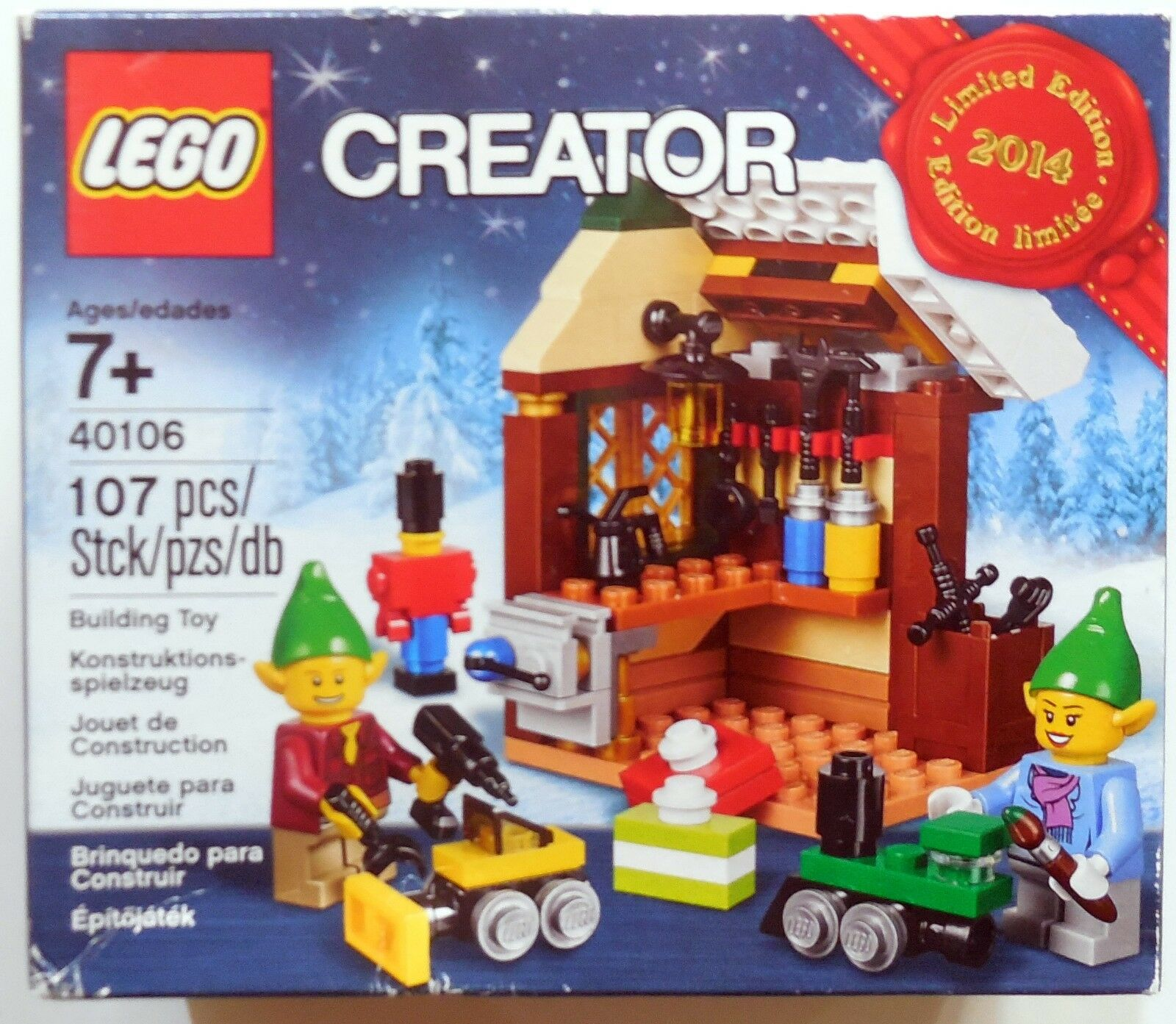 LEGO CREATOR ELFI BUILDING TOY LIMITED EDITION 2014 SIGILLATO