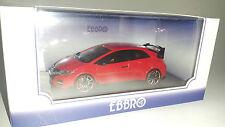 1:43 Ebbro Honda Civic FK2 Type R Concept 2014 Red 45234