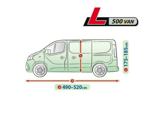 500 Premium Complete Car Cover Tarpaulin 520cm VAN FORD Transit Custom Tourneo