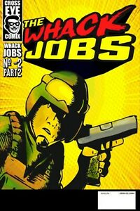 The Whack Jobs comic coloring book #-2 part 2
