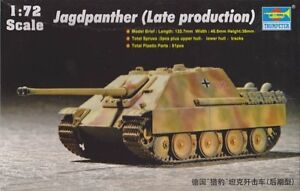 1-72-Jagdpanther-Late-production-Trumpeter-07272-FREE-SHIPPING