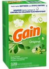 Gain Fabric Softener Dryer Sheets, Original Scent, 160 Sheets, Tax Free~